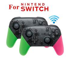 EastVita For NS Switch Pro gamepad For Splatoon2 Bluetooth Wireless Gamepad Remote Controller Joypad for Nintend Switch Console(China)
