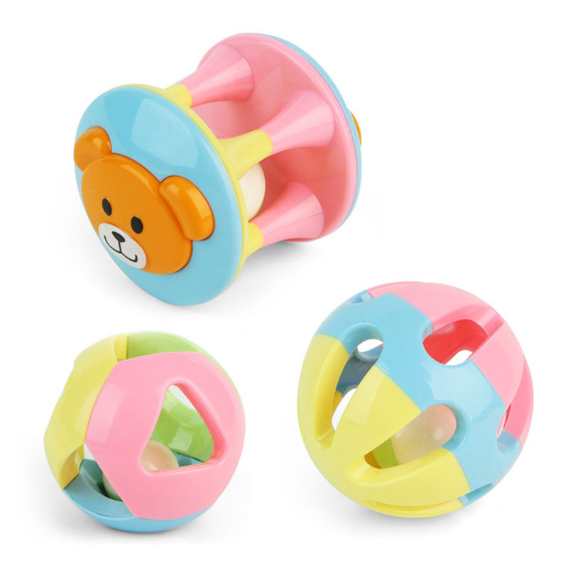 Cute Handbells Early Education Musical Development Toys Bed Bells Kids Baby Toys Rattle Yjs Dropship