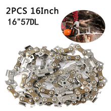 купить 16 Chainsaw Saw Chain Blade Pitch 3/8LP 0.050 Gauge 57 DL Drive Link Cutting дешево