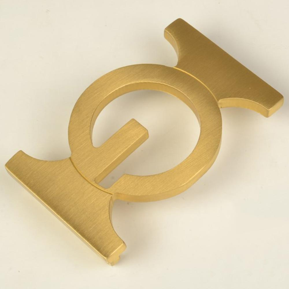 CUKUP New Brand Name Unique Design Geometric Pattern Solid Brass Buckle Metal 3.7-3.9cm Wide Belt Paties Buckles for Men BRK045