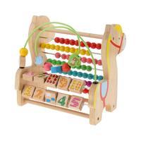나무 3 1 장난감 Abacus 미로 번호 블록 조기 학습 수학 교육 완구 어린이를위한 생일 선물 어린이