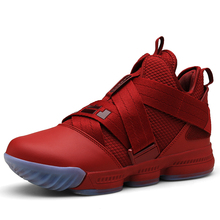 premium selection 23df4 d60c6 Pscownlg Hot Sale Basketball Shoes Lebron James High Top Gym Training Boots  Ankle Boots Outdoor Men