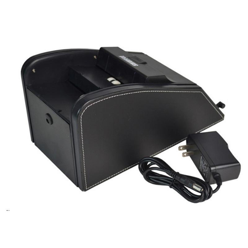 High Quality Automatic Poke Card Shuffler Electronic Professional Card Shuffler 2 In 1 Shuffle Deal Machine Battery Operated