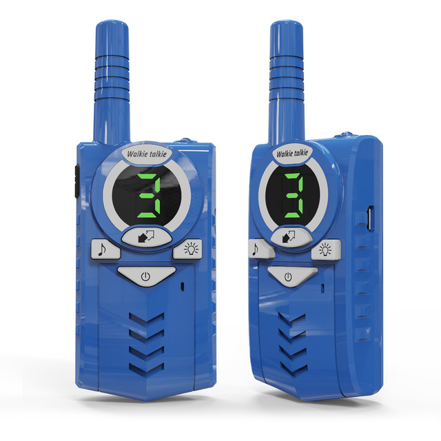 2pcs/lot T6 Walkie talkie Two way radio USB charge for backpackers
