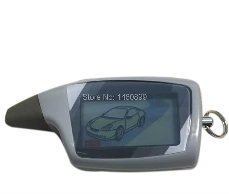 LCD Fernbedienung Schlüssel Fob Für Russische Fahrzeug Sicherheit 2 Weg Auto Alarm System Scher Khan M5 Scher-khan magicar 5