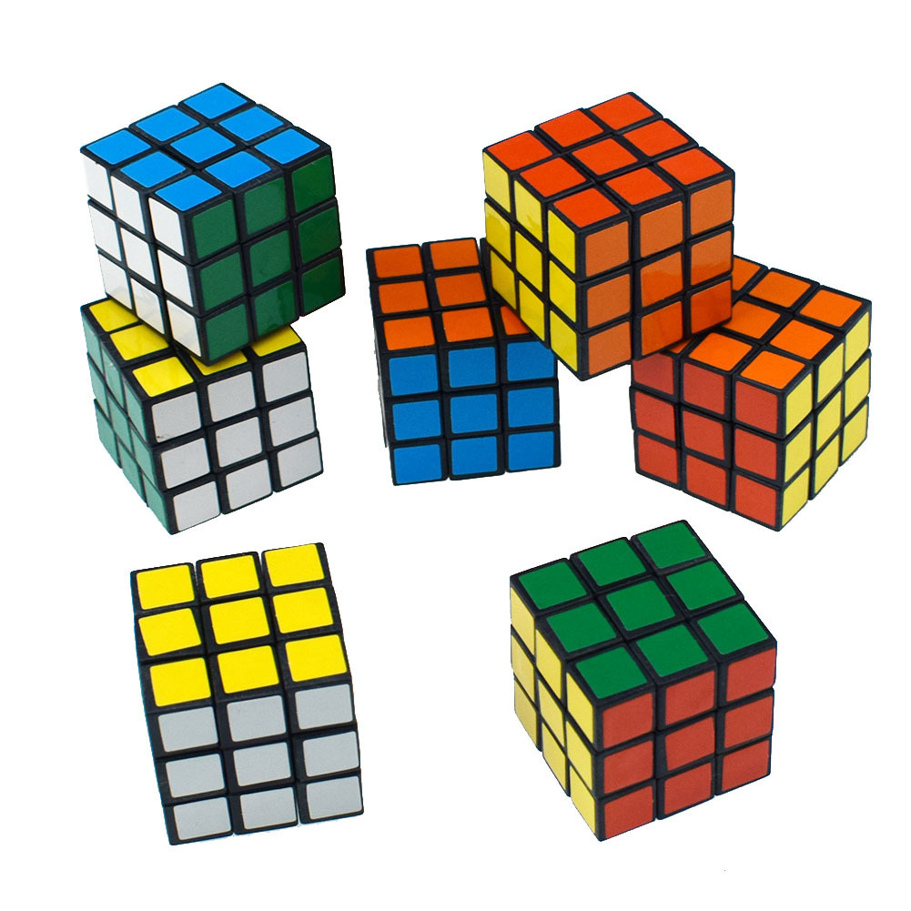 3cm Magic Cube Three Steps Toys 3 Steps Magic Cube With Slippery Beginner Quick-twisting And Twisting Eggs Intelligence Toys