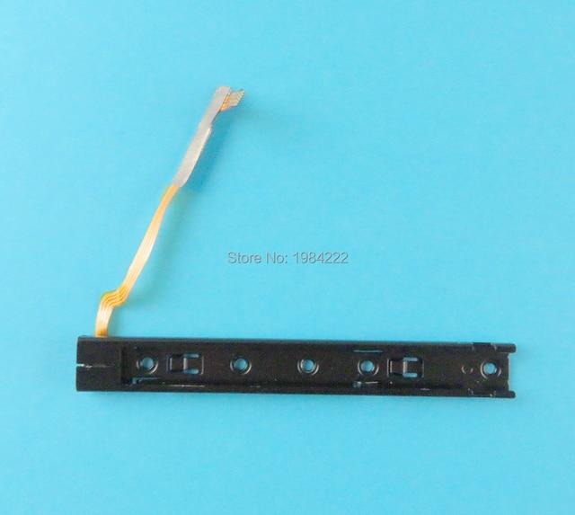 Substituição esquerda direita deslizante com cabo flexível para nintendo switch ns reparação parte nintend switch console