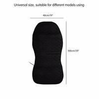 2pcs Car Heated Pad Car Heated Seats Cushion Electric Heating Pad Car Seat Covers Car Cushion for Cold Weather Driving 39*19