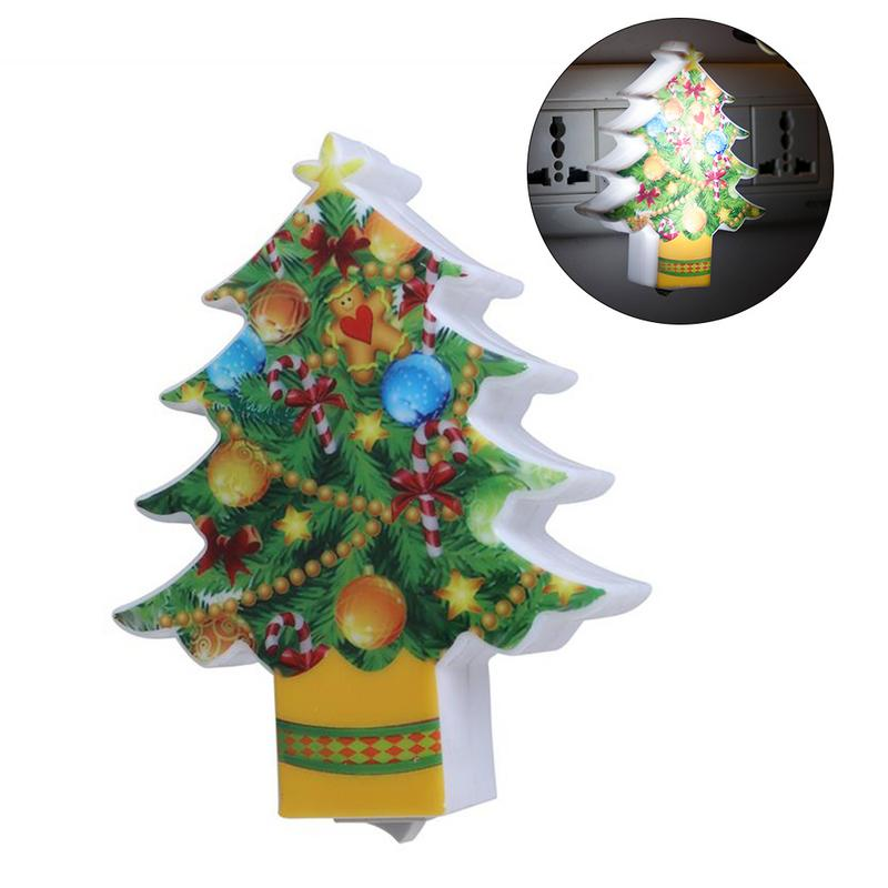 Us 1 86 31 Off Led Switch Light Mini Christmas Tree With Plug In Lamp Decorative Night Lamp For Home Bedroom Decoration Christmas Gifts In Led Night
