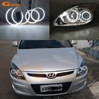 For Hyundai i30 2007 2008 2009 2010 2011 Hatchback Wagon Headlight Excellent Ultra bright illumination CCFL Angel Eyes kit