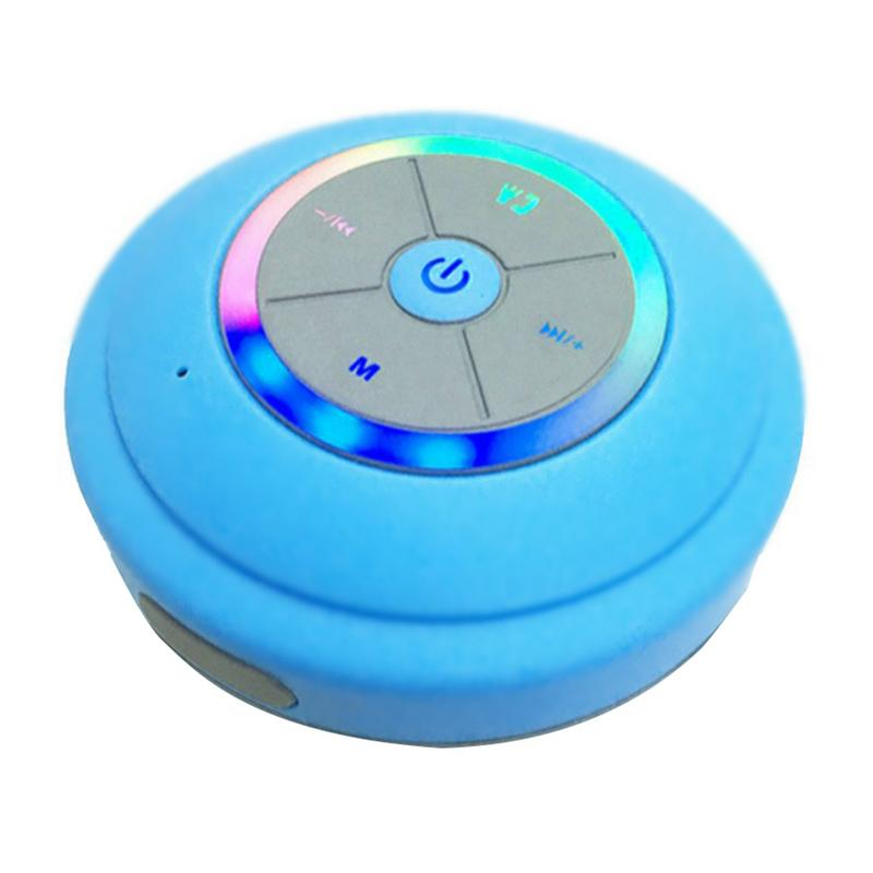 Image 2 - Portable Speaker Waterproof Wireless Bluetooth Player Stereo Hd Hifi Sounds Surrounding Devices With Mic Hands free Calling-in Subwoofer from Consumer Electronics