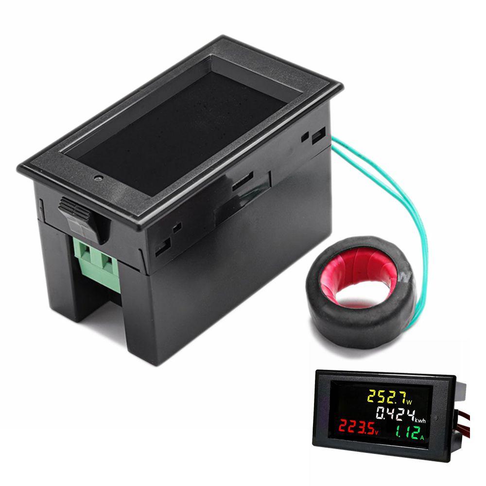 100A AC 200-450V LED Digital Voltmeter Ammeter Power Energy Voltage Current Meter Charger Tester Detector Monitor100A AC 200-450V LED Digital Voltmeter Ammeter Power Energy Voltage Current Meter Charger Tester Detector Monitor