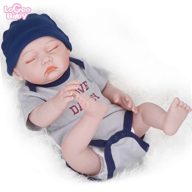 Logeo Baby 20 bebes reborn doll Handmade Reborn Doll clothes Realistic Newborn Dolls lol Childrens sleeping toys