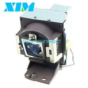 Image 2 - Alta qualidade 5j. j5205.001 lâmpada do projetor com habitação para benq ms500 ms500p MS500 V mx501 mx501v MX501 V tx501 180 dias de garantia
