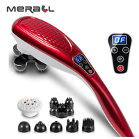 Back Electric Massager Electric Dolphin Massager Neck Massage Hammer Electric Shiatsu Massage Stick Moledodo Multifunctional