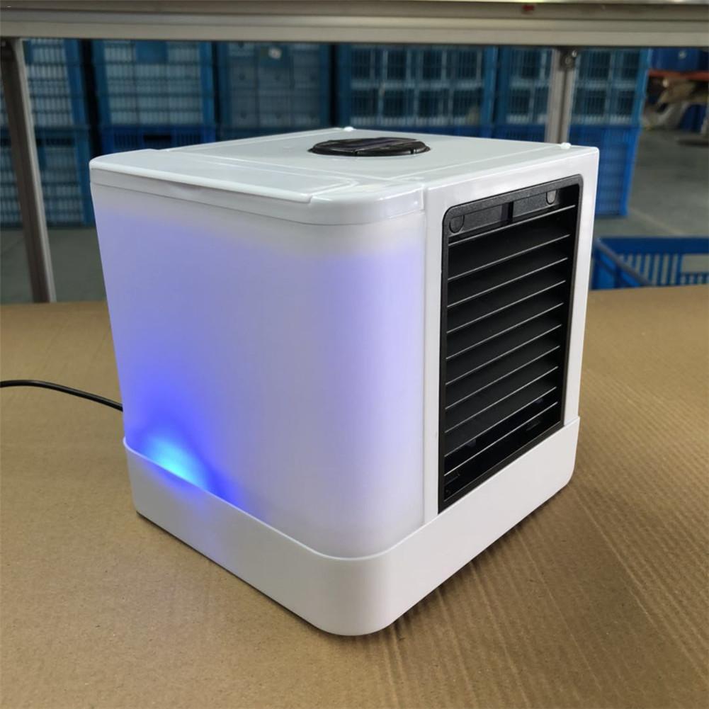 Begeistert Auto Zubehör Luftkühler Fan Ebenen Einstellung Mini Tragbare Usb Kalt Fan Desktop Fan Auto Klimaanlage Lcd Digital