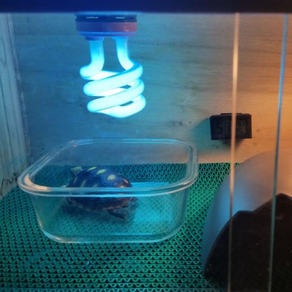 Ultraviolet Light Bulb E27 5.0 10.0 UVB 13W Pet Reptile Light Glow Lamp Daylight Bulb For Tortoise Fish Amphibians