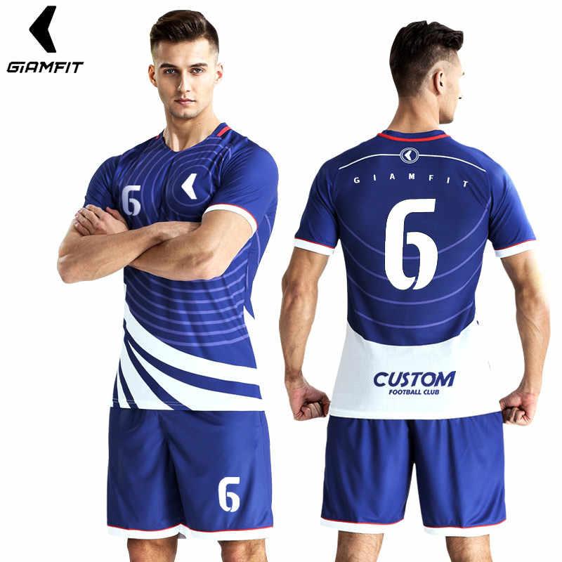 78bb4303159 ... Jersey Soccer 2019 Survement Football Kit Mens Sports Suits  Professional Football Jerseys Custom Design Tracksuit Soccer ...