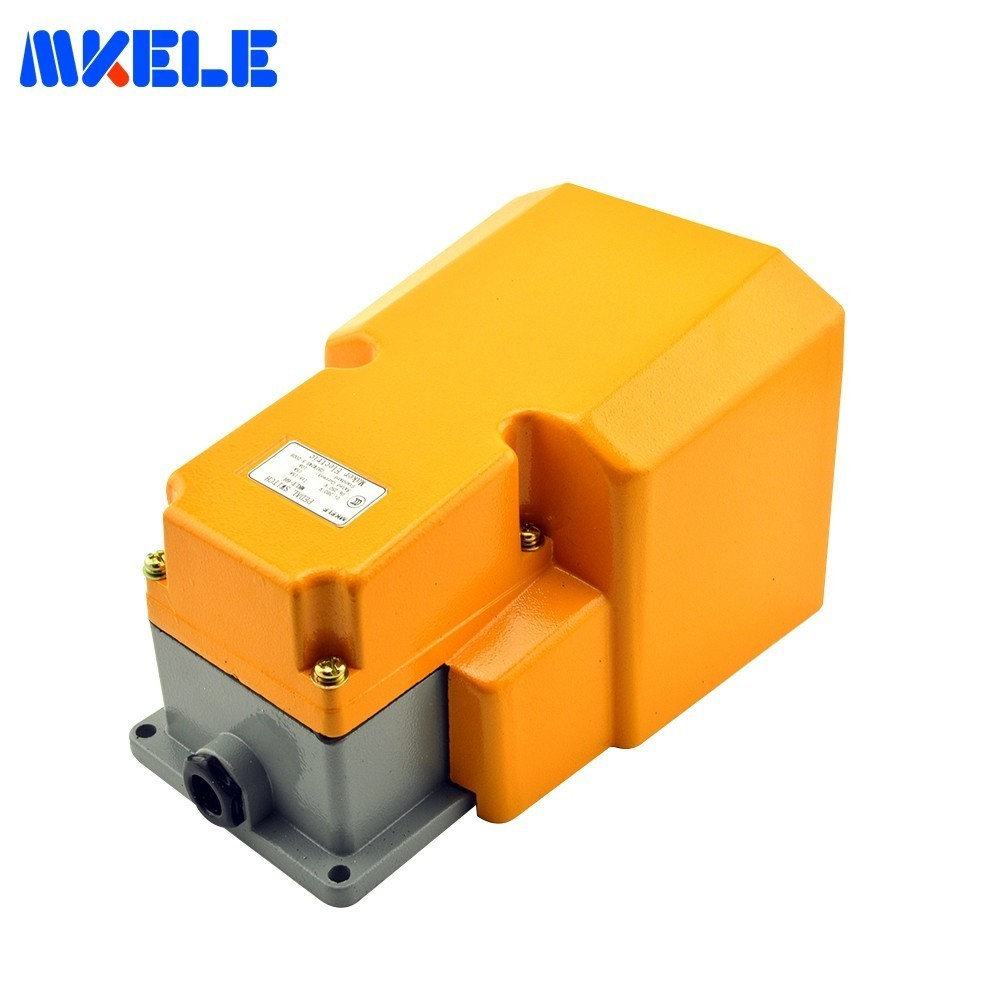 Commutateur résistant industriel de pédale de commutateur de pied de garde de MKLT-6H de la CE pour le Contact d'argent de contrôle de Machine-outil