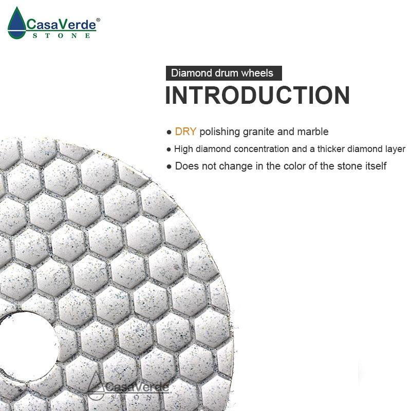 2,0 mm darbinis storis 7vnt / partija 4 colių 100 mm granito - Elektriniai įrankiai - Nuotrauka 5