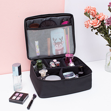 Travel Cosmetic Bag Women  Oxford Cloth Waterproof Toiletry Storage Large Capacity Vanity organizer toilet bag makeup kit #1121