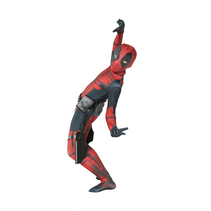 Image 4 - Bambino Ragazzi Deluxe Deadpool Attillato Spandex Zentai Suit Bambini Costume di Halloween Cosplay