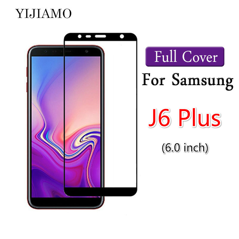 Full Cover 3D Tempered Glass For Samsung Galaxy J6 Plus Screen Protector 9H Protective Film For Samsung J6+ J610F SM-J610F CaseFull Cover 3D Tempered Glass For Samsung Galaxy J6 Plus Screen Protector 9H Protective Film For Samsung J6+ J610F SM-J610F Case