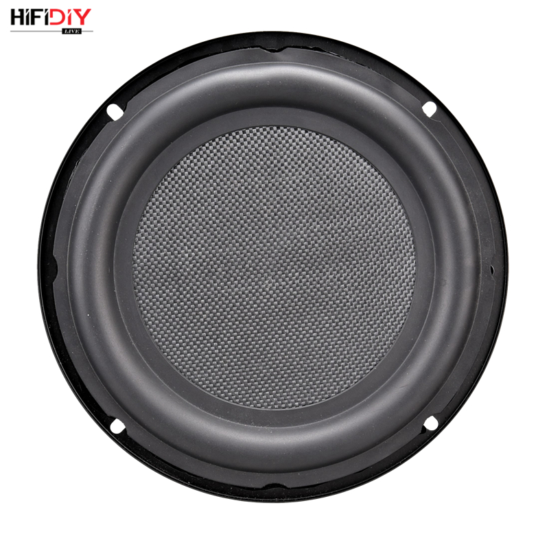 HIFIDIY LIVE 8 inch Bass Speaker Plate Passive Radiator Auxiliary Bass Rubber Vibration Plate Iron frame
