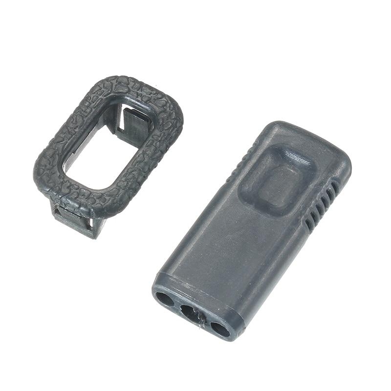 Car Door Lock Pin Cap Set With Base Holder Holding For Mitsubishi Pajero Montero V31 V32 V33 V43 1999 2000