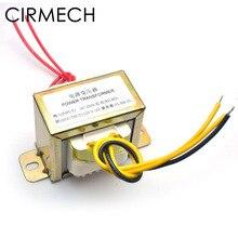CIRMECH Dual ac 12v 30W Piazza EI trasformatore per preamplifer amplificatore tono uso a bordo 110V 220V in optional