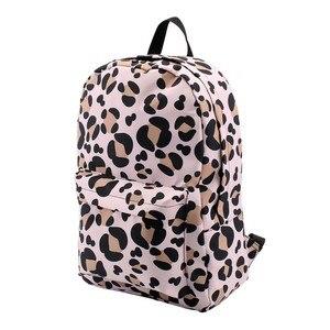 Image 2 - Deanfun กระเป๋าเป้สะพายหลังสำหรับสาวเสือดาวรูปแบบกันน้ำคลาสสิกวัยรุ่นกระเป๋าเดินทางของขวัญ 80048