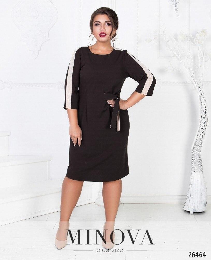 2019 Summer Plus Size Women Dress Elegant Party Dress Black Bodycon Bandage  Dress 5XL 6XL Ladies Office Midi Dress Vestidos