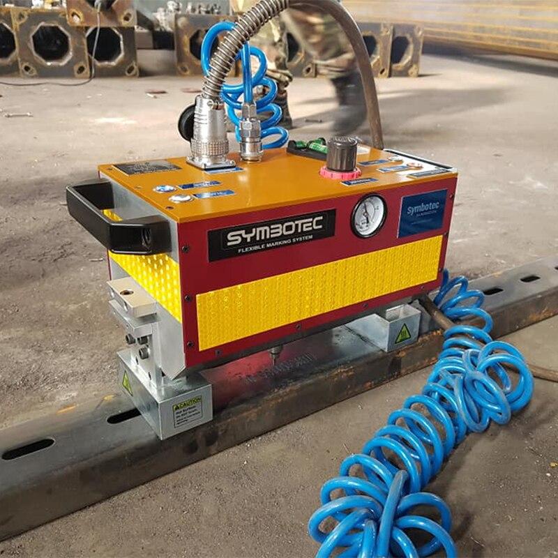 Pneumatic Marking Machine For Automotive Frame Engine Motorcycle Vehicle Frame Number 140*80MM
