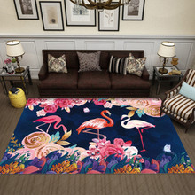 Multicolour 6mm ultra-thin 3D Cartpet Simple Modern Vintage Art Rug Living Room Carpets Coffee Table Mat Bedroom Washable