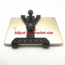 OEM ปรับแท็บเล็ต cradle ผู้ถือ 1 นิ้วสำหรับ iPad Air mini 1 2 3 4 และ 7 12 นิ้วสำหรับ ram mounts