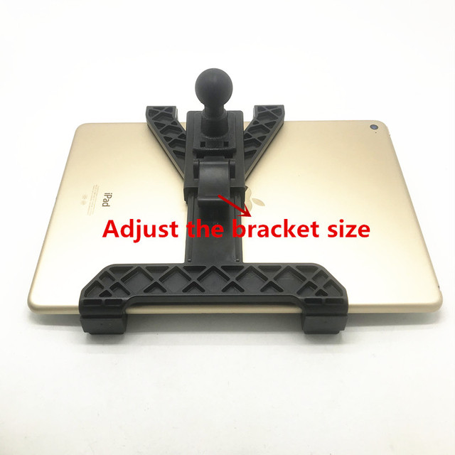 Suporte ajustável do berço da tablet do oem, com bola de 1 polegada para ipad air mini 1 2 3 4 e 7 comprimidos de 12 polegadas compatíveis para montagem ram