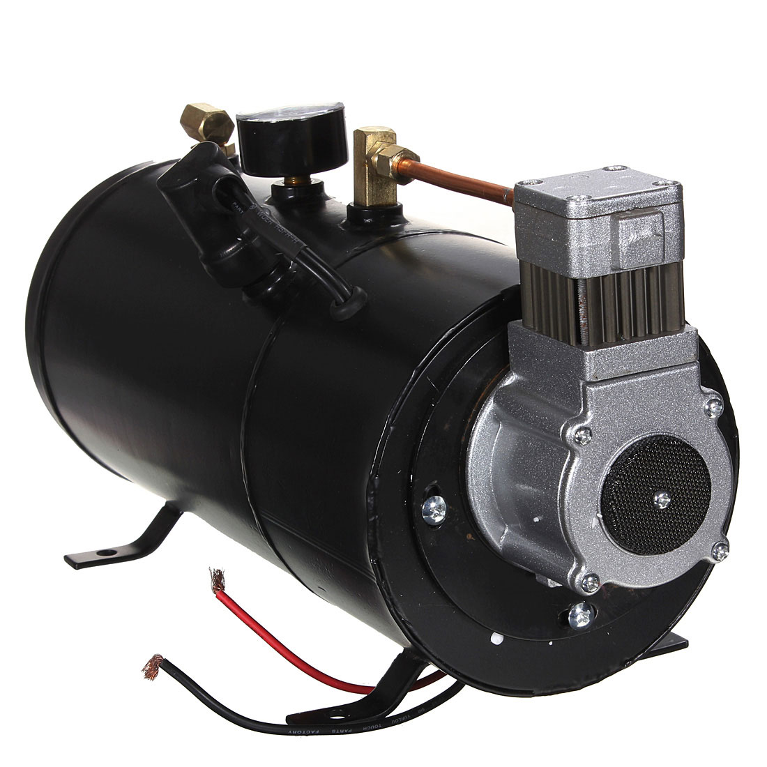 12 В в черный 150PSI воздушный компрессор 3 литров и давление переключатель шланг наборы поезд грузовик прицепы Запчасти для авто