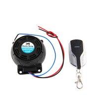 Motorcycle Anti-Theft Alarm System Warning Lock Anti-Theft Alarm Remote Control Sensor