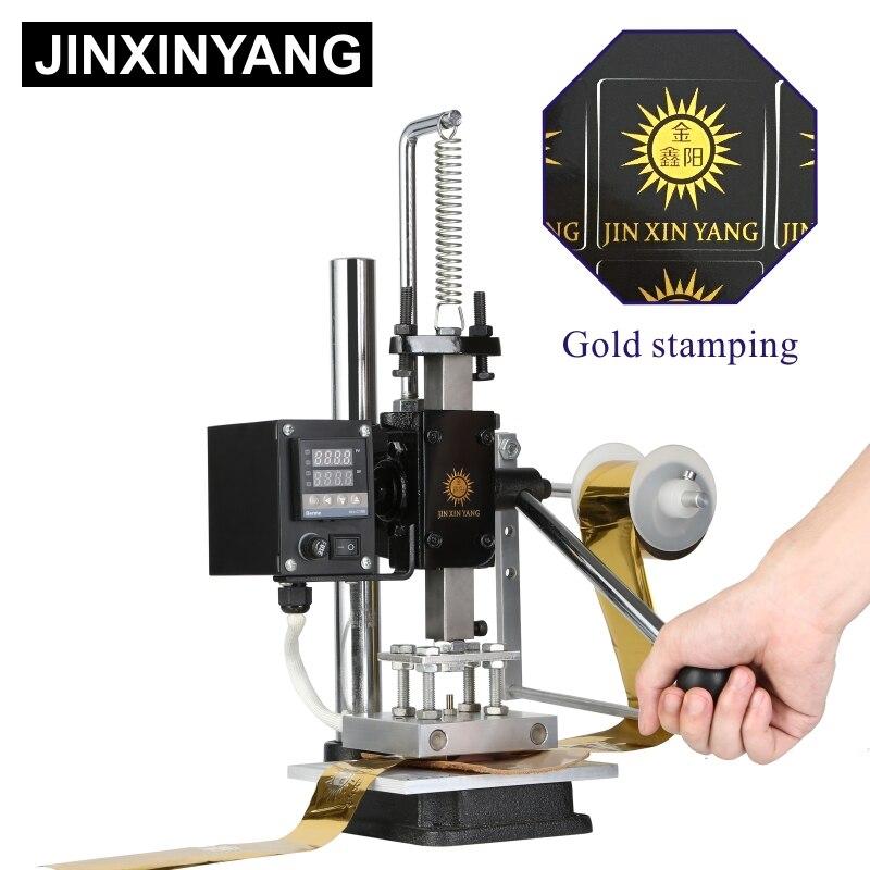 JINXINYANG wärme drücken maschine Leder Präge Folie Gold stanzen Heißer drücken Mold schneiden Raute stanzen Branding Holz