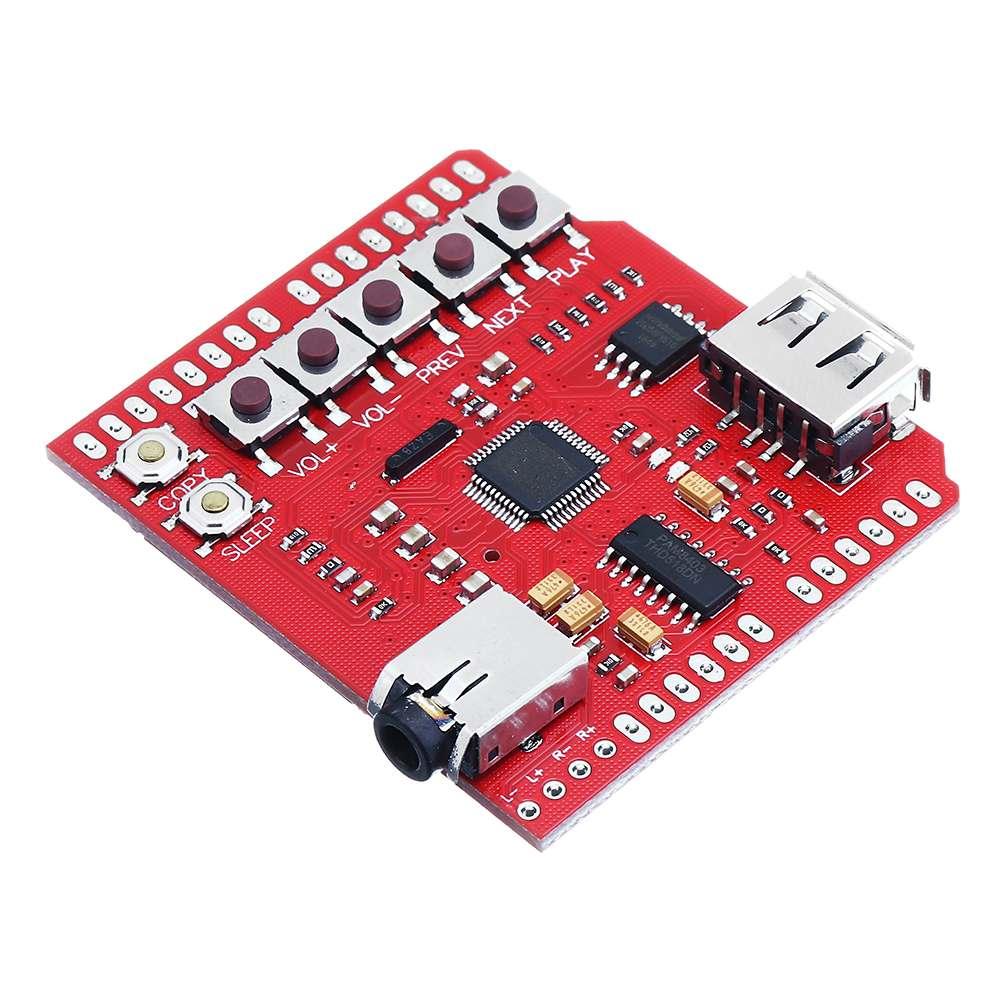 Schnelle Lieferung Leory Usb-sd Mp3 Schild Für Arduino Mp3 Player Extension Board Modul Mangelware Mp3-player & Verstärker-zubehör