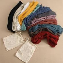 Fashion Autumn And Winter Ladies Cotton Linen Scarf Tassel Bag Horse Warm Brand Woman Shawl