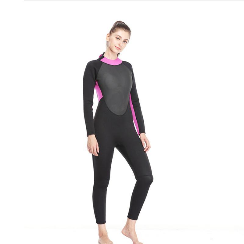 Surf combinaison de plongée Maillot de Bain Rash Guards D'une Seule Pièce Crème Solaire De Natation Étanche Vêtements Épaissie 3 MM Épaissir vêtements de Surf