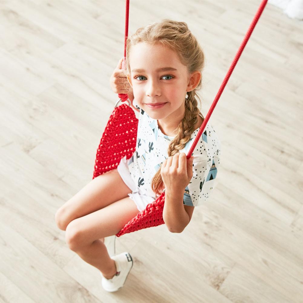 Enfants balançoire disque jouet siège souple enfants balançoire ronde corde balançoires aire de jeux extérieure suspendu jardin jouer activité de divertissement