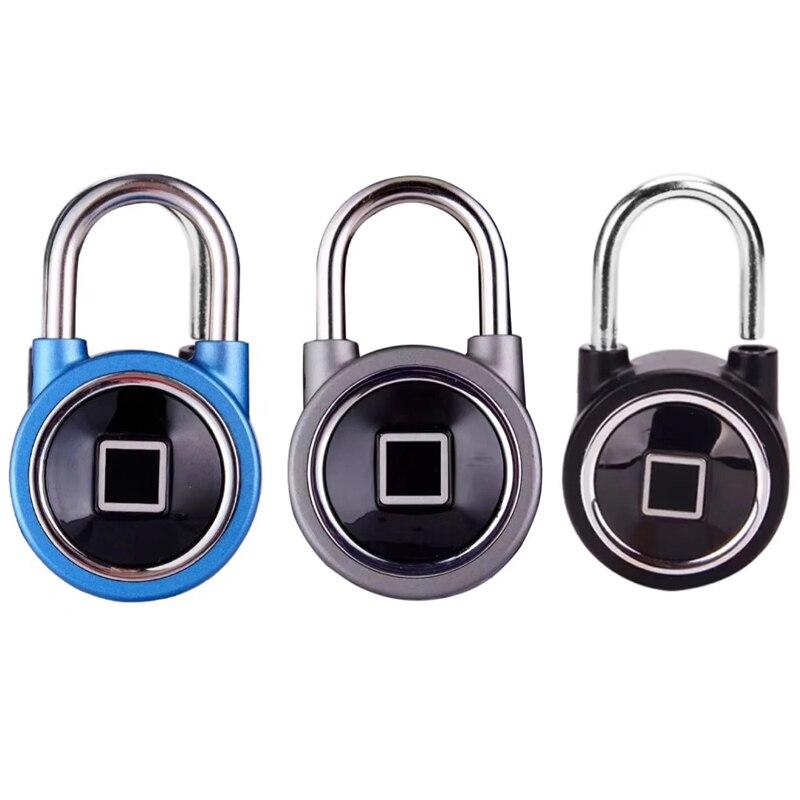 Cadenas intelligent serrure électronique entrepôt porte sécurité porte serrure Bluetooth empreinte digitale cadenas