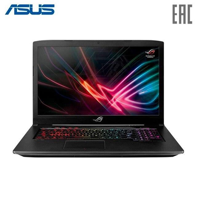 "Ноутбук ASUS ROG GL703GE Intel i7 8750H/8Gb/1Tb+128Gb SSD/No ODD/17.3"" FHD/NVIDIA GeForce GTX 1050Ti 4Gb GDDR5/Camera/Wi-Fi/No OS/Aluminum Black (90NR00D2-M04360)"