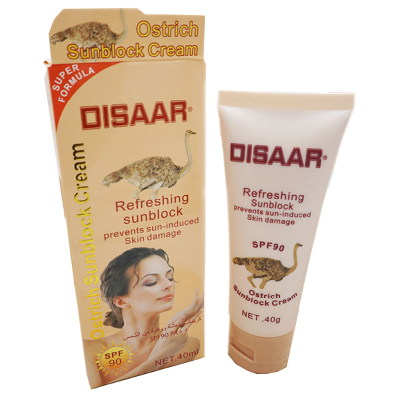 Disaar Snail Sunscreen Spf 90++Isolation Uv Whitening Moisturizing Sunscreen Waterproof Concealer Foundation Sunscreen