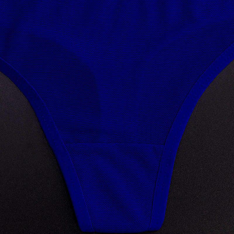 Senhoras sexy algodão malha transparente calcinha tangas corda lingerie moda baixo-rise roupa interior feminina sem costura cuecas 1pcs yq01