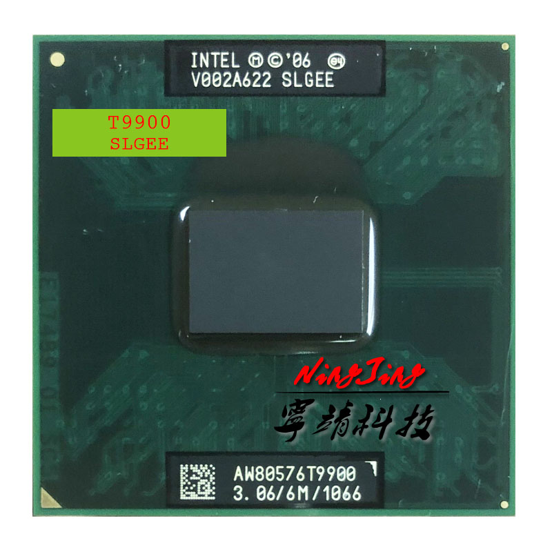 Intel Core 2 Duo T9900 SLGEE 3.0 GHz Dual-Core Dual-Thread CPU Processor 6M 35W Socket P