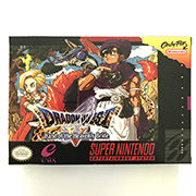 Dragon Quest 5 game cartridge with box image