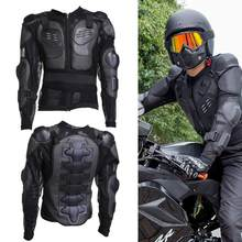 Motocross Racing PE Shell Armor Riding Body Protection Jacket Vest Colete with Reflective Strip See detail page for full dimensi(China)